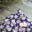ผ้าคอตตอนไทย 100% 1/4 ม.(50x55ซม.) พื้นสีม่วง ลายดอกกุหลาบวินเทจ thumbnail 1
