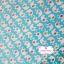 ผ้าคอตตอนไทย 100% 1/4ม.(50x55ซม.) พื้นสีฟ้า ลายช้าง thumbnail 1