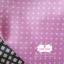 ผ้าคอตตอนไทย 100% 1/4 ม.(50x55ซม.) พื้นสีชมพู จุดสีขาว thumbnail 2