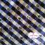 ผ้าคอตตอนไทย 100% 1/4 ม.(50x55ซม.) ลายตาราง โทนสีน้ำเงิน แต่งด้วยสมอเรือ thumbnail 1
