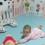 ขอบคุณ รีวิวจากน้องโซลีนนะคะ คอกกั้นเด็ก Haenim รุ่น Petit สีชมพู thumbnail 3
