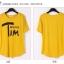 เสื้อยืดแฟชั่นเกาหลี พิมพ์ลายสกรีนด้านหน้าเสื้อ สวมใส่สบาย มีให้เลือกถึง 2 สี thumbnail 9