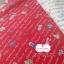 ผ้าคอตตอน 100% 1/4 ม.(50x55ซม.) พื้นสีแดง ลายการ์เด้น thumbnail 1