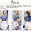 เดรสแฟชั่นเกาหลี สวยหวาน ด้วยเสื้อสียีนส์น่ารักๆ รับกับชายกระโปรงลายลูกไม้ เข้ากันได้ลงตัวสุดๆ thumbnail 6