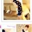 เสื้อแฟชั่นเกาหลี มาในลวดลายสุด chic คอเสื้อแบบคอวี สีทูโทน thumbnail 6