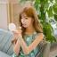 เดรสแฟชั่นเกาหลีทรงยาว พร้อมเข็มขัดในชุด กับลายดอกไม้สวยๆ thumbnail 23