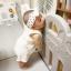 คอกกั้นเด็ก เฮนิม รุ่น Petit สีเทา-ขาว thumbnail 1