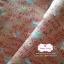 ผ้าคอตตอนไทย 100% 1/4 ม.(50x55ซม.) โทนสีชมพูอิฐ thumbnail 1