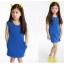ชุดเดรสสาวน้อยสีน้ำเงิน thumbnail 1
