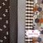 Set 5 ชิ้น : ผ้าคอตตอน 100% 4 ลาย และผ้าแคนวาส โทนสีน้ำตาล 1 ลาย ชิ้นละ1/8 ม.(50x27.5ซม.) thumbnail 1