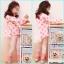 เสื้อผ้าเด็กขายส่งยกแพ็ค ชุดเสื้อระบายหลัง และกางเกงเลคกิ้งลูกไม้ที่ปลายขา แพ็ค 5 ชุด ไซด์ 100-140 thumbnail 1