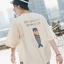 *Pre Order*เสื้อยืดแขนสั้น@ Hong Kong art boy ผ้าฝ้าย 100% พิมพ์ลาย/ญี่ปุ่น size M-XL