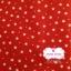 ผ้าคอตตอนไทย 100% 1/4 ม.(50x55ซม.) พื้นสีแดง ลายดาวเล็ก thumbnail 1