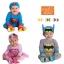 บอดี้สูท Superman / SuperGirl / Batman แขนยาว thumbnail 1