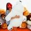 หมีหลับตัวใหญ่ นุ่มนิ่ม ใยไมโครนุ่ม thumbnail 3