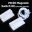 MC-38 Wired Door Window Sensor MC38 Magnetic Switch normally Closed NC for our Home gsm pstn Alarm System thumbnail 1