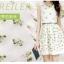 เดรสสั้นทรงน่ารักๆ ปักลายดอกไม้ สีสดใส สวยงามตามสไตล์สาวหวาน thumbnail 2