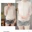 เสื้อแขนยาวลูกไม้ สวย หรูหรา ออกแบบและตัดเย็บอย่างดี เพื่อสาวๆ จริงๆ thumbnail 14