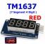TM1637 ( 7 Segment 4 Digit ) RED thumbnail 1