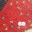 ผ้าคอตตอน 100% 1/4 ม.(50x55ซม.) พื้นสีแดง ลายการ์เด้น thumbnail 2