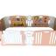 คอกกั้นเด็ก Haenim new สี Rose Gold รุ่น Melody+ Playgame ไซส์ M thumbnail 1