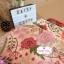 ผ้าคอตตอนลินิน 100% 1/4 เมตร(50x55cm.) โทนสีชมพูอ่อน ลายblossom thumbnail 2