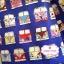 ผ้าคอตตอนไทย 100% 1/4 ม.(50x55ซม.) พื้นสีน้ำเงิน ลายรถ thumbnail 1