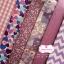 Set 6 ชิ้น : ผ้าคอตตอน 100% โทนสีม่วง 6 ชิ้น ชิ้นละ1/8 ม.(50x27.5ซม.) thumbnail 1