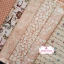 Set 6 ชิ้น : ผ้าคอตตอนไทย 5 ลาย โทนสีโอรส แต่ละชิ้นขนาด1/8 ม.(50x27.5ซม.) thumbnail 1