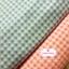 ผ้าคอตตอนไทย 100% 1/4 เมตร(50x55ซม.) ลายตารางเล็กสีฟ้า thumbnail 3