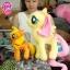 ตุ๊กตาม้าโพนี่ pony สีส้ม ลิขสิทธิ์แท้ thumbnail 2