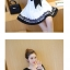 เดรสแฟชั่นสวยใส สไตล์สาวเกาหลี กับสีทูโทนขาวดำ เพิ่มโบว์ขนาดใหญ่ให้น่ารักสมวัย thumbnail 10