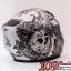 MT Revenge Skull & Roses - Matt Grey / Black thumbnail 4