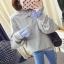 เสื้อกันหนาวแฟชั่น ดีไซน์แบบใส่ทับ 2 ตัว สวยเก๋ แบบสาวยุคใหม่ thumbnail 23