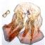 ผ้าพันคอชีฟอง เสือดาวสีส้ม ( รหัส P94 ) thumbnail 1