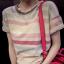 เสื้อแฟชั่นลายขวาง ขอแตกต่างด้วยสีสันแบบ colorful ด้วยสีอ่อนแบบพาสเทล มันช่างใสๆ สมวัยสาวๆ จริงๆ thumbnail 6