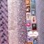 Set 5 ชิ้น : ผ้าคอตตอน100% โทนสีม่วง 5 ลาย แต่ละชิ้นขนาด1/8 ม.(50x27.5ซม.) thumbnail 3