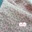 ผ้าคอตตอนไทย 100% 1/4 ม.(50x55ซม.) ลายดอกไม้เล็ก สีชมพูอ่อน thumbnail 2
