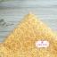 ผ้าคอตตอนไทย 100% 1/4 ม.(50x55ซม.) ลายใบไม้เล็ก โทนสีเหลือง thumbnail 1