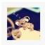 จุกเสียบไอโฟน/ซัมซุง หมีโคล่าน้อยประดับเพชร thumbnail 2
