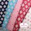 ผ้าคอตตอน 100% 1/4 ม.(50x55ซม.) พื้นสีฟ้า ลายดอกกุหลาบ thumbnail 2