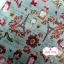 ผ้าคอตตอนไทย 100% 1/4 ม.(50x55ซม.) พื้นสีเขียวอ่อน ลายวินเทจหอไอเฟล thumbnail 3