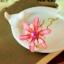 ปิ่นประดับผมแฟชั่นดอกไม้คริสตัลชมพูทอง thumbnail 1