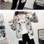 เสื้อกันหนาวแฟชั่น คอกลม ขนาดกำลังดี สกรีนลายสวยๆ น่าใส่มากค่ะ thumbnail 13