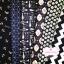 Set 6 ชิ้น : ผ้าคอตตอน 100% โทนสีน้ำเงินกรมท่า 6 ลาย ชิ้นละ1/8 ม.(50x27.5ซม.) thumbnail 1