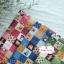 ผ้าคอตตอนไทย 100% 1/4 ม.(50x55ซม.) ลายตารางน้องซู โทนสีเขียวคลาสสิค thumbnail 2