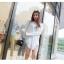 เสื้อแฟชั่นเกาหลีแขนยาว เบาสบายด้วยเนื้อผ้า chiffon thumbnail 8