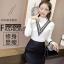 เสื้อแฟชั่นเกาหลีสวยๆ คอเต่าผ้านิ่ม คาดลายเหมือนคอวี ทั้ง 2 ด้าน ดูเก๋จริงๆ thumbnail 3