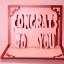การ์ด Congrats To you ใส่รูปได้ thumbnail 2