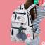 กระเป๋าเป้แฟชั่น ลายน่ารักๆ มีช่องใส่ของด้านหน้า สะดวก เหมาะกับทุกการใช้งานจริงๆ thumbnail 24